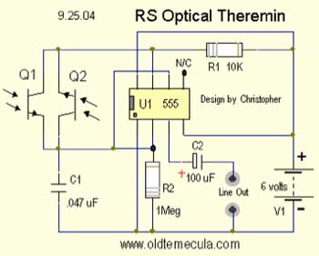 how to build a theremin easy