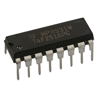 5x 74F251PC 8-Input Multiplexer with 3-STATE Outputs Fairchild 74F251 IC