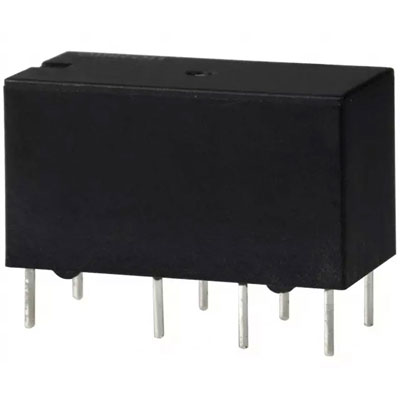 g5v 2 dc12 omron electromechanical relay double pole double throw 2a 12 volt 288ohm through. Black Bedroom Furniture Sets. Home Design Ideas