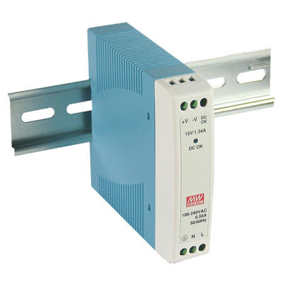 Mdr 10 12 Mean Well Ac To Dc Din Rail Power Supply 12