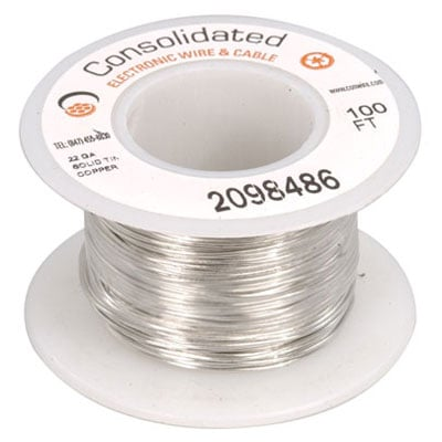 3818 100 jameco valuepro 22 awg solid tinned copper bus bar wire 22 awg solid tinned copper bus bar wire 100 feet keyboard keysfo Gallery