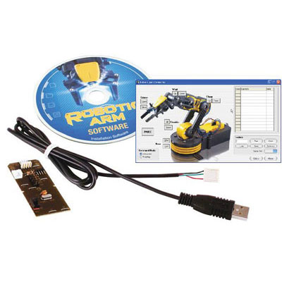 535-USB: OWI Incorporated : USB Interface for Robotic Arm Edge OWI