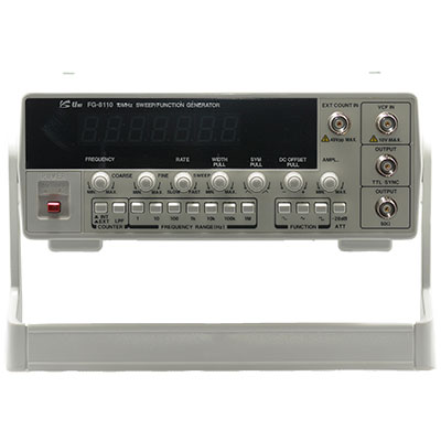 FG-8110: Uniteq Corporation : Sweep Function Generator 0 1Hz-10 MHz