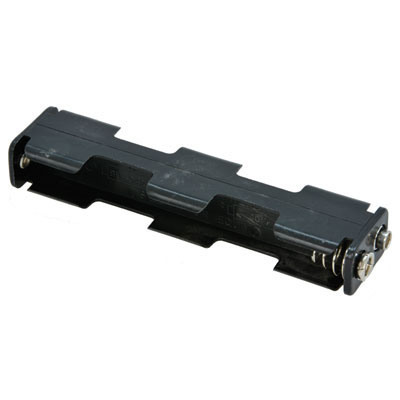12bh341 Gr Eagle Plastics 4x Aa Battery Holder With