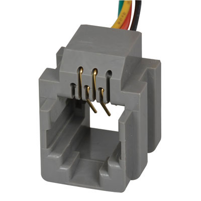 mtjp k x a adam technologies pc rj side entry 6p4c rj14 side entry modular jack 6 wires