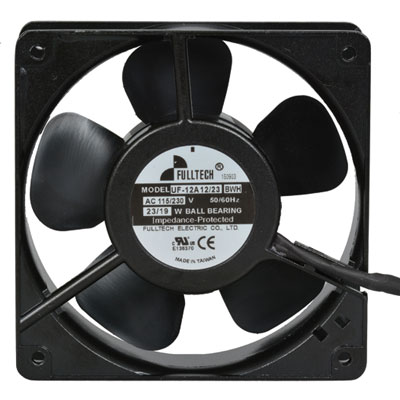 UF-12A1223BWH: Fulltech Electric : 115/230 Volt AC 120mm