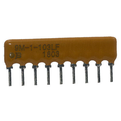 Pack of 100 4606X-101-471LF Resistor Networks /& Arrays 6pins 470 OHMS Bussed