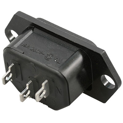 Rear side connection