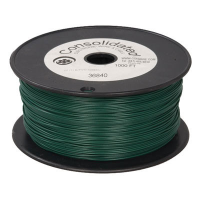 green solid tinned copper hook wire feet