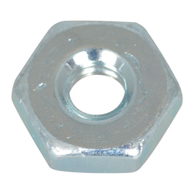 6CNMS13: Jameco Valuepro : Nut Hex 6-32 Zinc Plated Steel ...