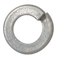 View 33602: Washer Split Lock 2 Zinc Plated Steel (100 Pieces)