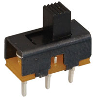 View SS-12F56-4: Mini SPDT Slide Switch Rating: 50VDC @ 0.5A