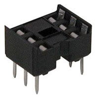 View 6000-6DW-R: 6000 Socket IC 06PIN Dual Wipe Solderight Angleail