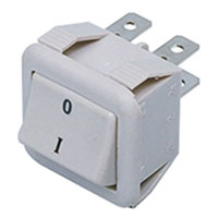 View GRK-618A: Rocker Switch on off Quick Connect Rocker 10 Amp 250 Volt AC