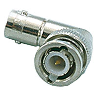 View B-412-R: Connector RF Right-Angle BNC Adapter 50 Ω
