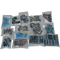 View 00130331: 240 Piece Radial Electrolytic Capacitor Kit Refill ±20% +85°C