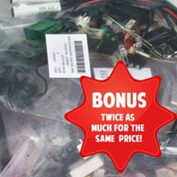 GRAB BAG, ELECTRONIC COMPONENTS, 1000 PCS