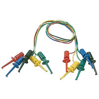 View SF-207A-R: 5 Pack Mini Clip Test Leads