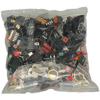 View GB165LB: Push Button Rocker Slide Toggle and Slide Switch Grab Bag