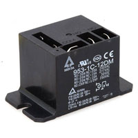 View HSINDA 953-1C12DM-R: General Purpose Power Relay Contact Form: SPDT