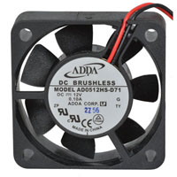 View AD0512HS-D71: DC Brushless Tubeaxial Fan Bearing Type: Sleeve
