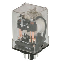 View BTA6-2C-J-CW-120VAC: General Purpose Blade and Octal Relay