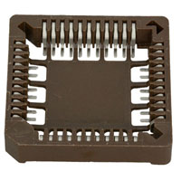 View 850-44-PPST: 850 44 Pin Surface Mount Chip Carrier Socket