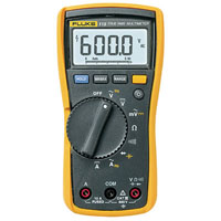 View FLUKE-115 / 2538790: Fluke 115 True RMS Multimeter