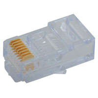 View 300568EZ: EZ-RJ45 CAT 5 Plug can be Crimped with Most any Standard Tool
