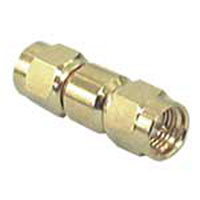 View S-311-G-R: Connector SMA Male to Male Straight Gold