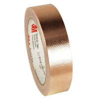 View 1245-1/2: 1245 Tape Embossed Copper Foil 3M (Anti-Static)