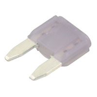 View 0297003.WXNV: 297 Fuse Mini Blade 32VDC 3A (Circuit Protection)