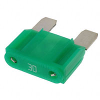 View 0299030.ZXNV: 299 Fuse Maxi Blade 32VDC 30A (Circuit Protection)