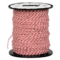 View BX13-68251: Twisted Paired Cable -24 AWG Red/White (Hook-Up)