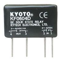 View KF0604D: DC-to-DC Solid State Relay Control Voltage: 3-32VDC