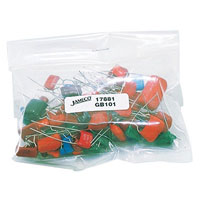View GB101: Assorted Mylar Capacitors Quantity: 100 (Grab Bags)