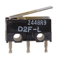 View D2F-L: SPDT -Nc Basic Subminiature Switch (Snap)