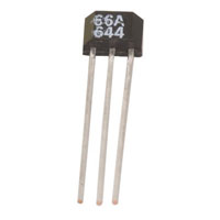 View SS466A: Temperature Compensated Hall-Effect Sensor a Position Sensor that has a Thermally Balanced Integrated Circuit over Full Temperature Range