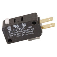 View V7-1C17D8: SPDT Basic Miniature Switch (Snap)