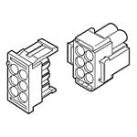 View 770021-1: Connector Housing PL 9 Position 6.35MM Straight Bulk