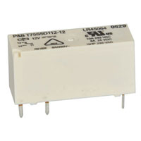 View T75S5D112-12: 12VDC SPDT Relay 10A@240VAC