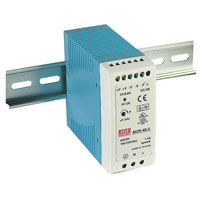 View MDR-40-48: MDR-40 Power Supply Switching 40 Watt 48V/.83A DIN 85-264VAC