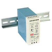 View MDR-60-5: 50W DIN-Rail Switching Power Supply Universal AC Input Range