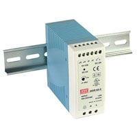View MDR-60-12: 60W DIN-Rail Switching Power Supply Universal AC Input Range