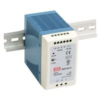 View MDR-100-24: 90W DIN-Rail Switching Power Supply Universal AC Input Range