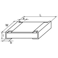 View ERJ-6GEYJ105V: Resistor Thick Film 0805 1M Ohm 5% 0.125W (1/8W) ±200PPM/C Molded Surface Mount Automotive Punched
