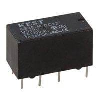 View KS2E-M-DC12: Relay DIP 12VDC 1&2A Double Pole Double Throw ( DPDT ) 8PIN 720OHMS