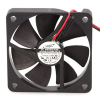 View AD0612HB-G70: AD 12VDC Fan 14.50CFM 60X60X10 Ball Bearing