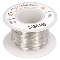 3818-100: Jameco Valuepro : 22 AWG Solid Tinned-Copper Bus