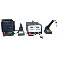 View LF-8800: 100 Watt Soldering/Desoldering Station with Fume Extractor
